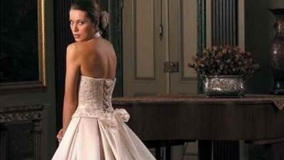 firmowa suknia ślubna, biała, Sincerity 3112