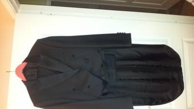 frak ślubny, spodnie, kamizelka
