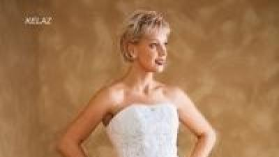 Francuska biała suknia Herm's Kelaz 36/38