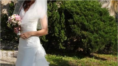 Francuska suknie ślubna Imogene