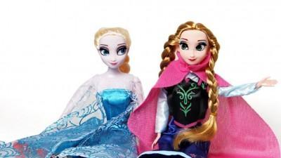 Frozen lalki z Krainy Lodu
