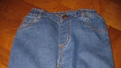 Gap spodnie na podszewce 6-12M misio,bawełna USA