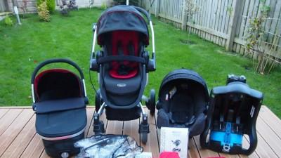 GRACO SYMBIO FULL TRAVEL SYSTEM