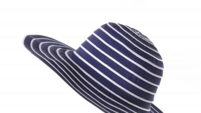 Granatowy kapelusz