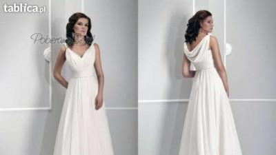 Grecka suknia ślubna kolekcja Afrodyta 2012