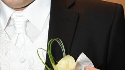 Gustowna kamizelka ślubna