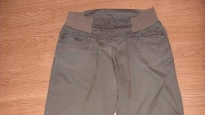 H&M spodnie bojówki ciążowe rozm.S