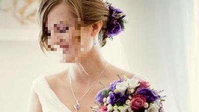 Hiszpańska suknia ślubna ABACO PRONOVIAS, Madonna 2012, r. 34 + welon