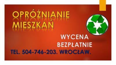 Ile kosztuje utylizacja, wywóz mebli, tel. 504-746-203, Wrocław. Kto odbiera stare meble.Co zrobić ze starymi meblami Wrocław? wywóz starych mebli Wrocław cennik? Ile kosztuje wywóz starych mebli? Kto odbiera stare meble