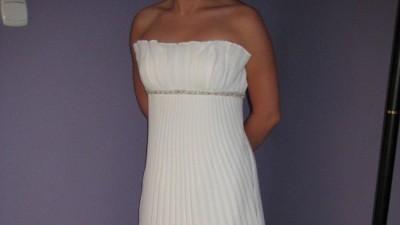 Impresja model 2009 piękna, plisowana