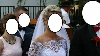 Jedyna taka, niepowtarzalna suknia ślubna!