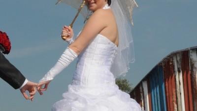 Jedyna taka suknia ślubna