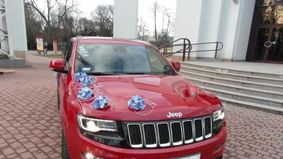 Jeep Grand Cherokee SRT do ślubu Kraków