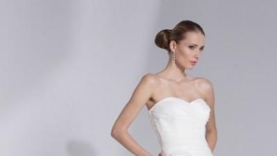 Julia Rosa 207 - elegancka, skromna suknia (rozm.36/38)