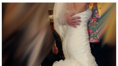 JUSTIN ALEXANDER Limited 6258 suknia ślubna z długim trenem
