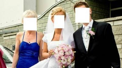 Kamizelka i musznik SUNSET SUITS i Suknia slubna ślubna HERMS