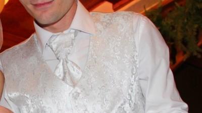 Kamizelka , krawatka- musznik , butonierka SUNSET SUITS rozm M wysyłka GRATIS