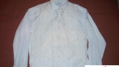 Kamizelka Pierre Cardin, koszula New Men