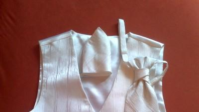 kamizelka slubna biała S/M