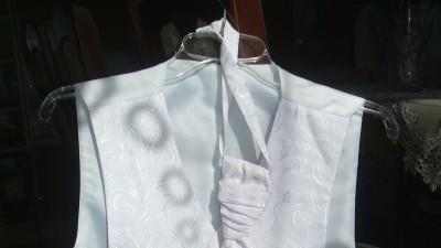 Kamizelka ślubna z krawatem!!