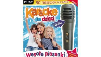 Karaoke dla dzieci WESOŁE PIOSENKI z Mikrofonem