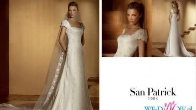 Klasyczna suknia San Patrick-