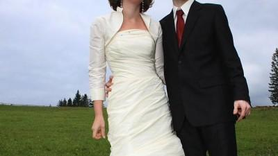 Kobieca suknia ślubna CLASSA C-425 Ecru