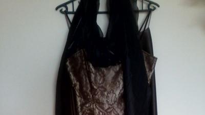 Komplet gorset i długa spódnica