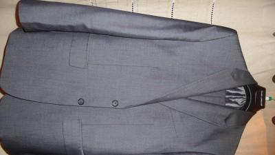 kompletny garnitur męski, + koszula+spinki