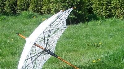 Koronkowa parasolka