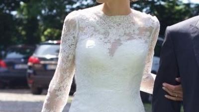 """Koronkowa suknia Diane Legrand rozm. 36 """"syrenka"""""""