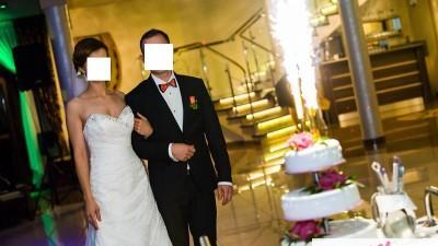 Koronkowa suknia Maggie Sottero 900 zł
