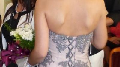 Koronkowa suknia ślubna r 36 bdb