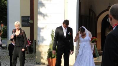 Koronkowa suknia ślubna w hiszpańskim stylu