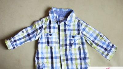 koszula w śliczną kratę Reserved rozmiar 74