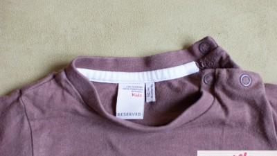 koszulak Reserved długi rękaw 74