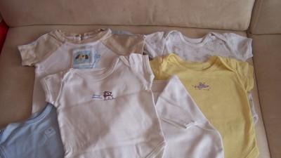 Koszulki+body dla chłopca