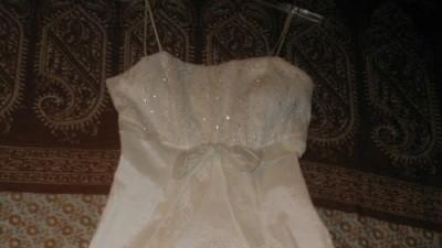 Krótka ślubna sukienka,idealan na ślub,lub na poprawiny