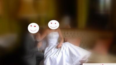 Kryształy Svarowskiego - oryginalna suknia ślubna