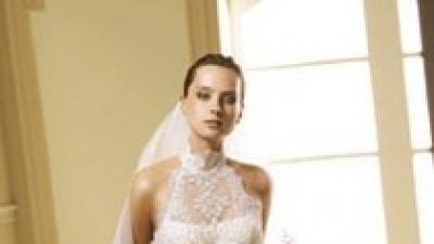 KUPIĘ suknie ślubną oryginalną PRONOVIAS- model manacor ,rozmiar 34, białą