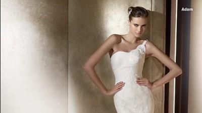 kupię suknie ślubną pronovias  model frase