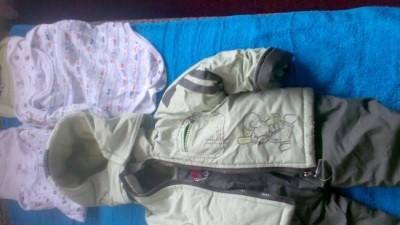 Kurtka i spodnie dzieciece