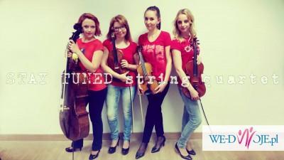 Kwartet smyczkowy Stay Tuned - oprawa muzyczna uroczystości