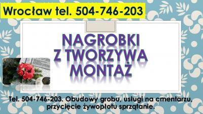 Ławka na cmentarz, Wrocław, tel. 504-746-203, przygrobowa, cmentarna, cena.  Montaż i naprawa ławki cmentarnej, Odnowienie ławek na przy grobie, odmalowanie oczyszczenie,