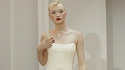 Lekka Biała Suknia Mariees de Paris z Cymbeline DODATKI