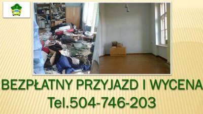 Likwidacja mieszkania, tel 504-746-203, sprzątanie piwnic, wywóz mebli, Wrocław, odbiór starych mebli, gratów od drzwi wraz zniesieniem do samochodu. Cennik do usługi do uzgodnienia. Opróżnianie mieszkań we Wrocławiu. Likwidacja mieszkania, domów, lokali.