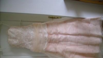 Łososiowa suknia ślubna Cymbeline