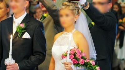 Lśniąca suknia FIENA z salonu Cymbeline - Białystok