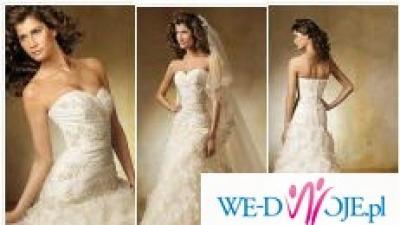 Madonna Pronovius Leza śliczna suknia ślubna
