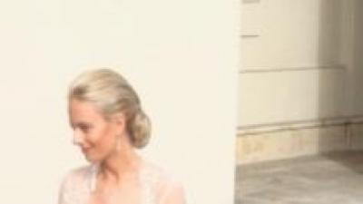 Maggio Romatti Sposa model Casablanca